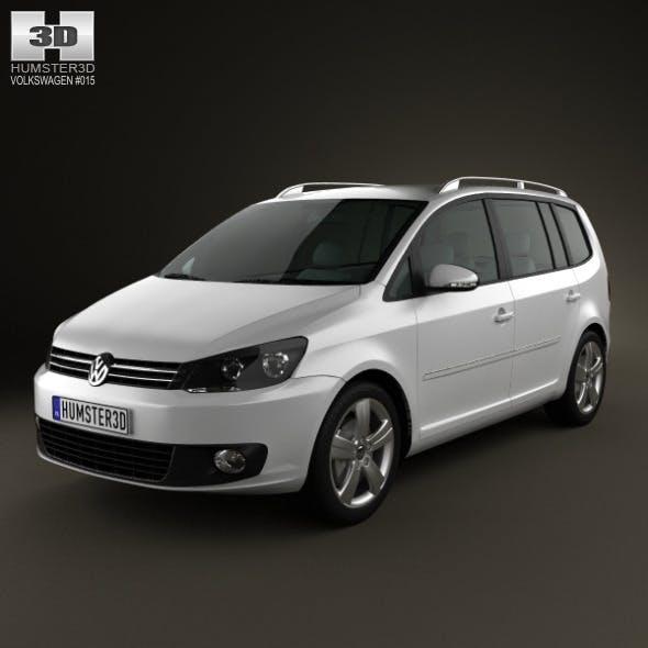 Volkswagen Touran 2011 - 3DOcean Item for Sale