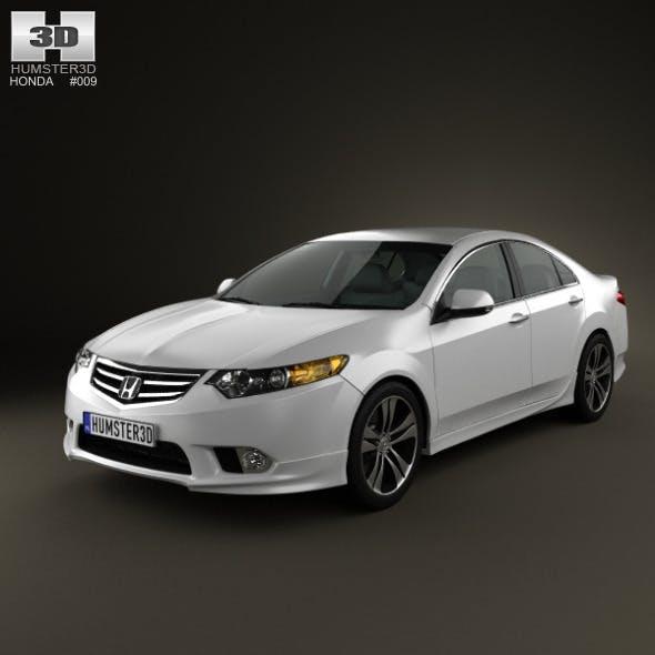 Honda Accord Sedan Type S 2011 - 3DOcean Item for Sale