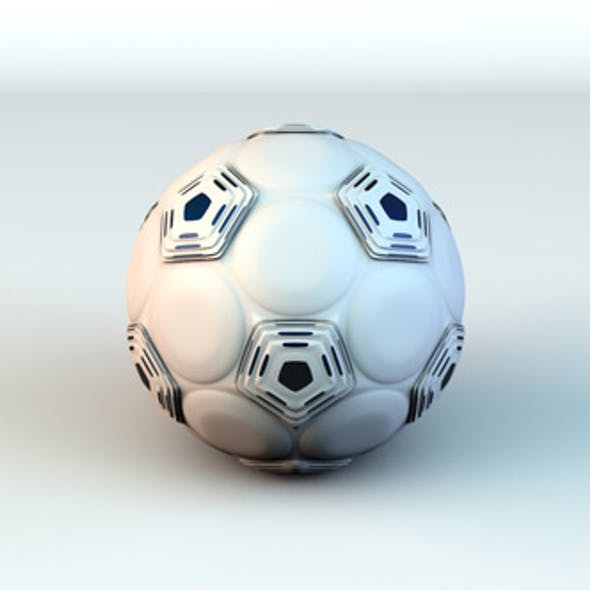 Hexo Soccer Ball - White/Black