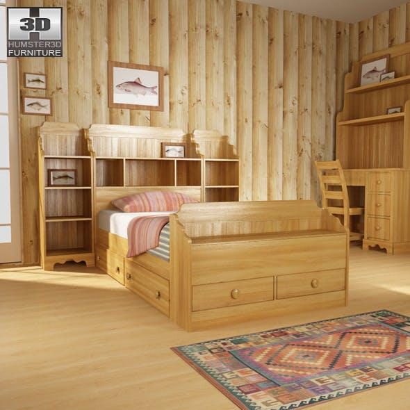Bedroom 13 Set - 3DOcean Item for Sale