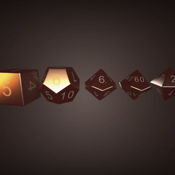 RPG Dice Pack
