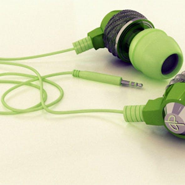 Stylish Realistic  Headphones