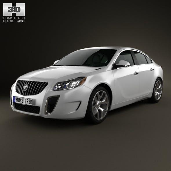Buick Regal GS 2012 - 3DOcean Item for Sale