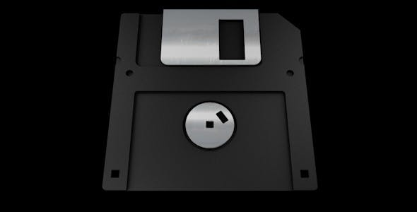 Realistic Floppy Disc - 3DOcean Item for Sale