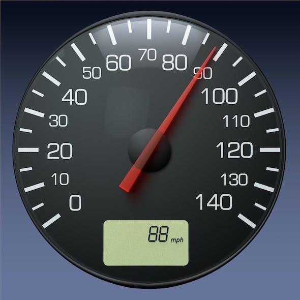 Speedometer Gauge for Auto/Truck Instrument Panel