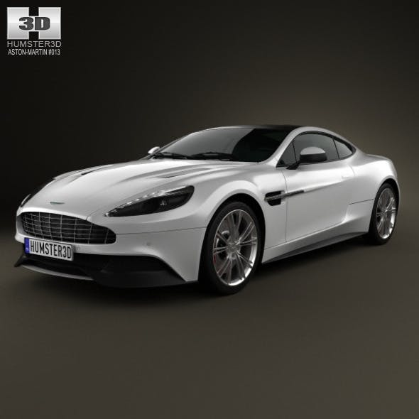 Aston Martin Vanquish 2012 - 3DOcean Item for Sale