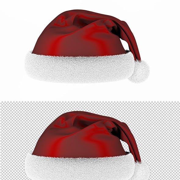 Ready render scene for Christmas Santa hat