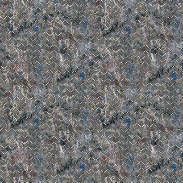 Insulation Felt Seamless Pattern Background