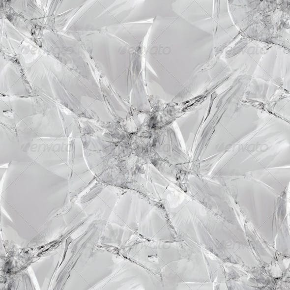 Cracked Glass Seamless Pattern