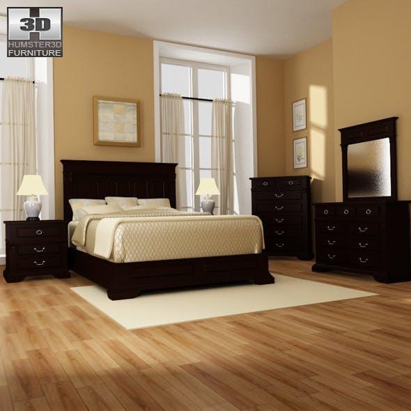 Bedroom 14 Set - 3DOcean Item for Sale