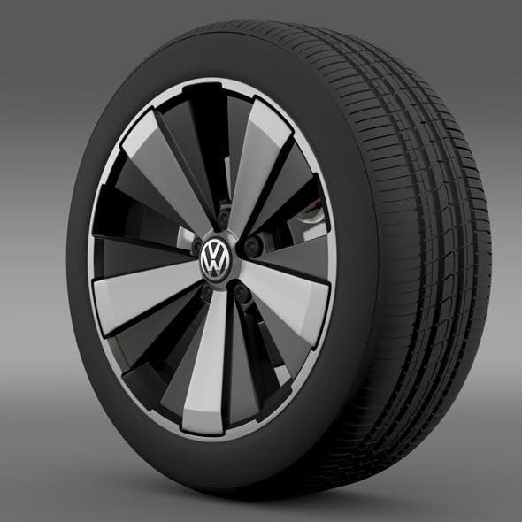 VW Beetle Turbo 2012 wheel