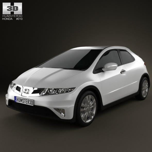 Honda Civic TypeR 2007 - 3DOcean Item for Sale