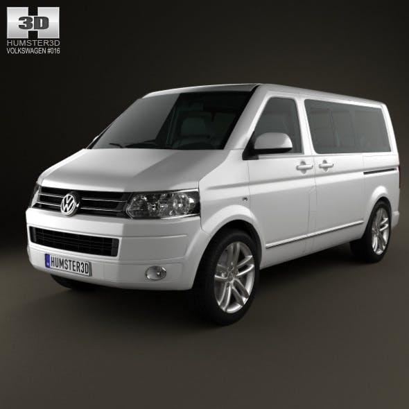 Volkswagen Transporter Caravelle Multivan 2011