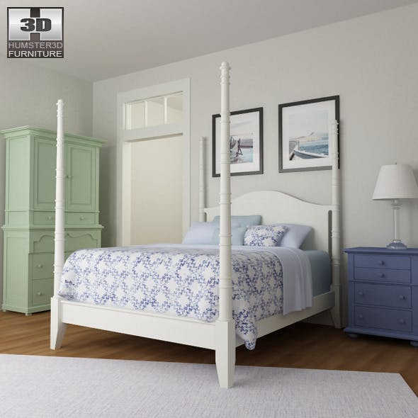 Bedroom 15 Set - 3DOcean Item for Sale