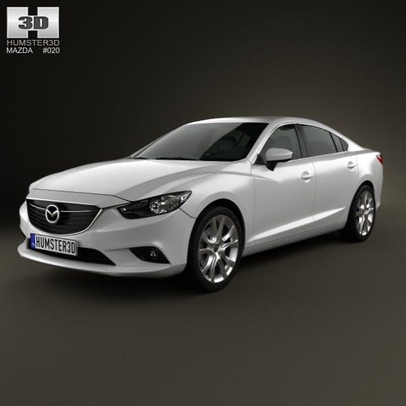 Mazda 6 sedan 2013 - 3DOcean Item for Sale