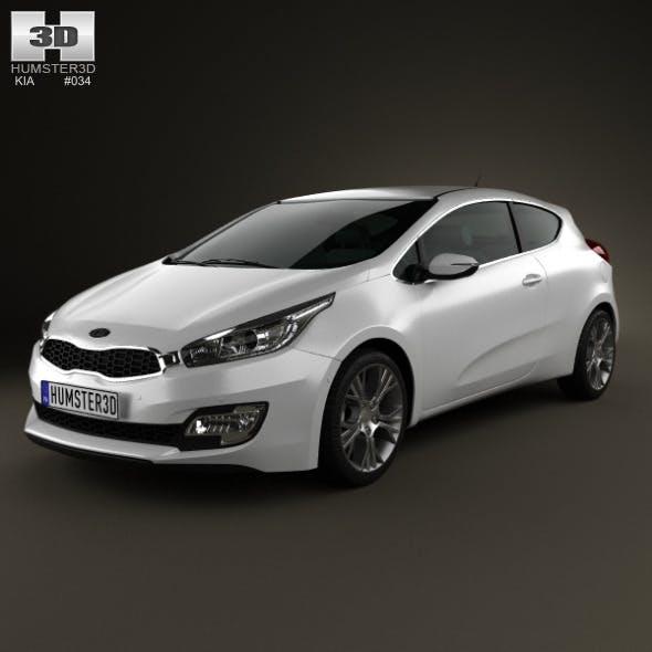 Kia Pro Ceed 2014 - 3DOcean Item for Sale