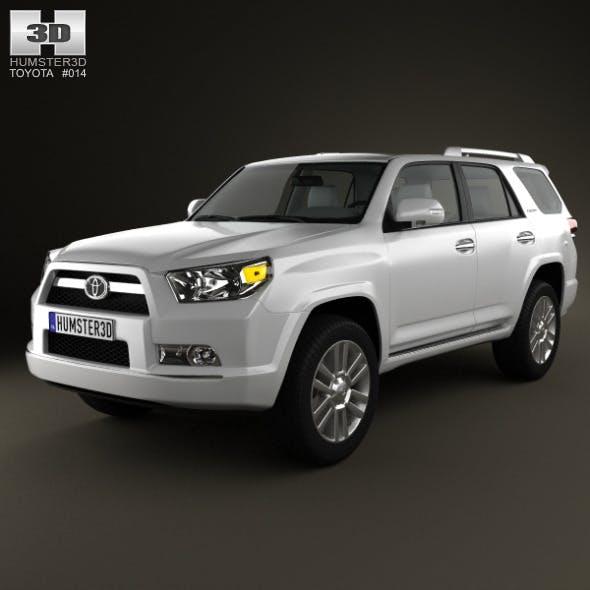 Toyota 4Runner 2011 - 3DOcean Item for Sale
