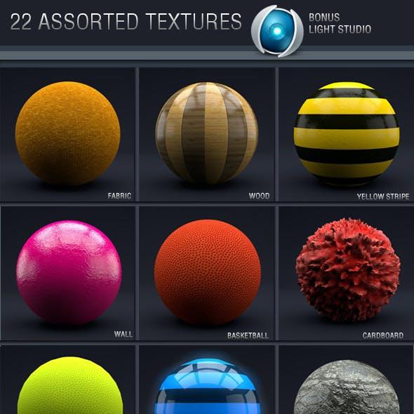 C4D Assorted Textures