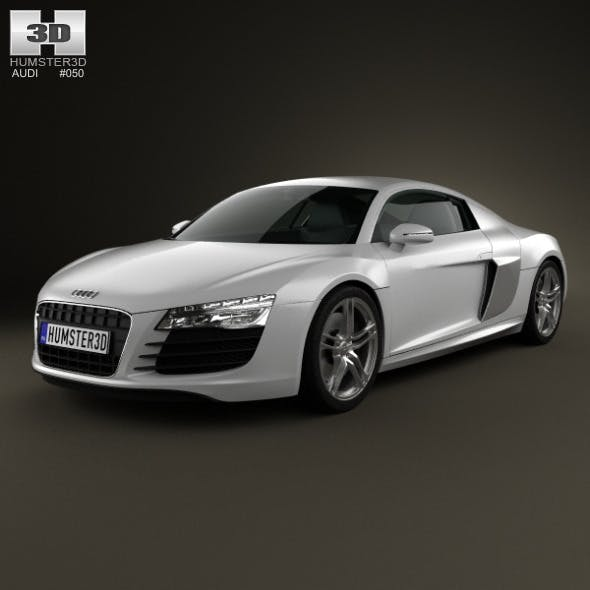 Audi R8 Coupe 2013 - 3DOcean Item for Sale