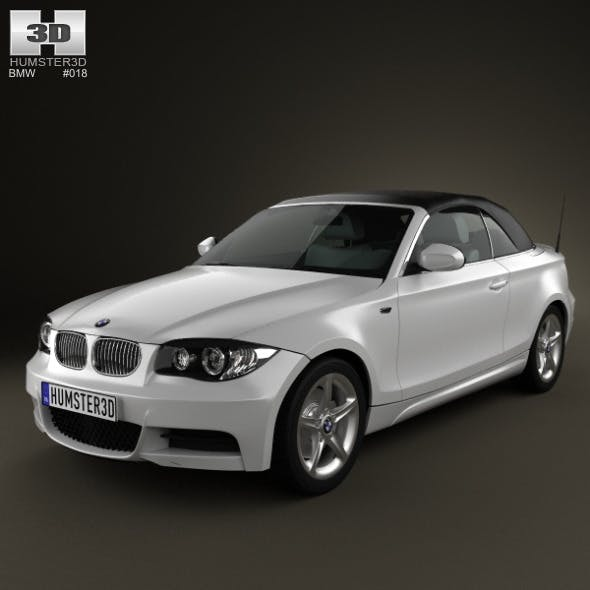 BMW 1-series convertible 2009 - 3DOcean Item for Sale