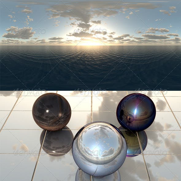 Sea Sunset f8 - 3DOcean Item for Sale