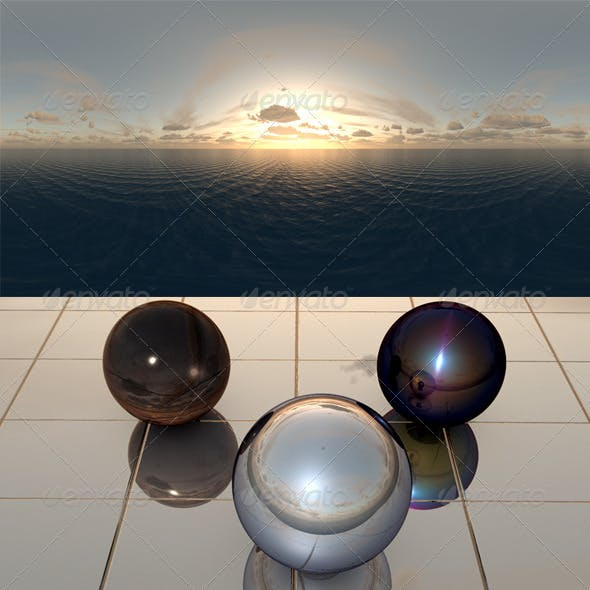 Sea Sunset f9 - 3DOcean Item for Sale
