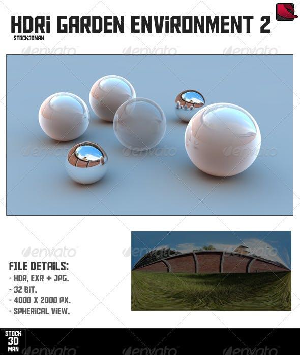 HDRi Garden Environment 2 - 3DOcean Item for Sale