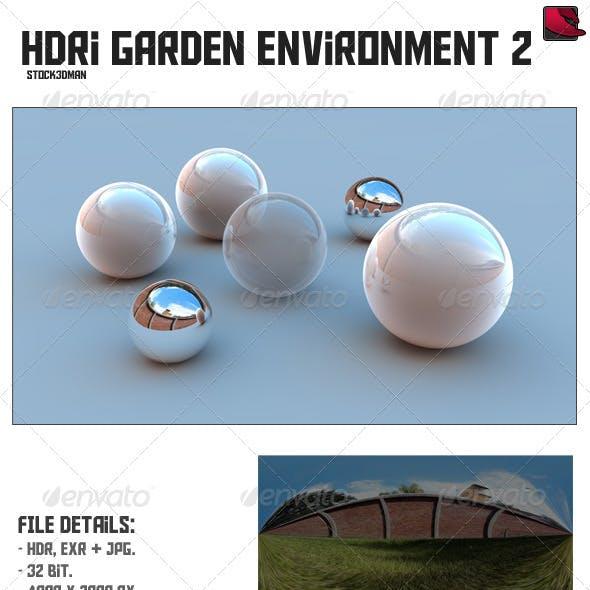 HDRi Garden Environment 2