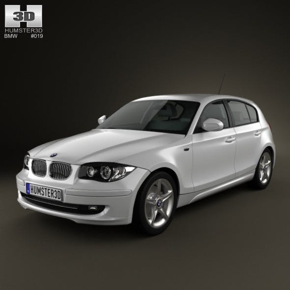 BMW 1-series 5 doors 2009