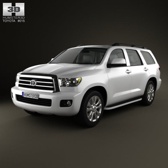 Toyota Sequoia 2011 - 3DOcean Item for Sale