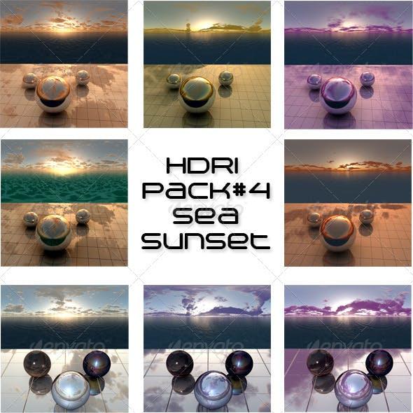 Pack 4 - Sea Sunset