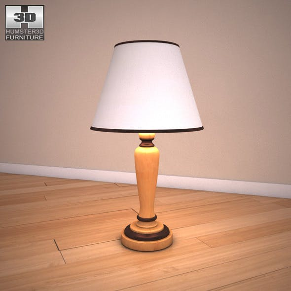 Ashley Stages Table Lamp - 3DOcean Item for Sale
