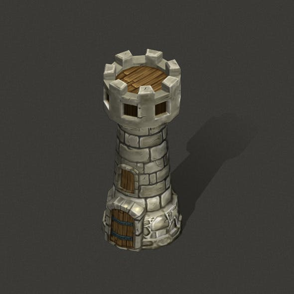 Tower Low poly