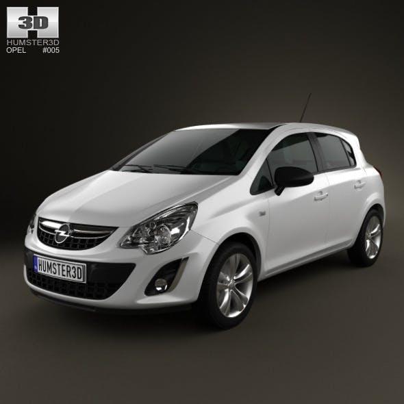 Opel Corsa 5door 2011 - 3DOcean Item for Sale