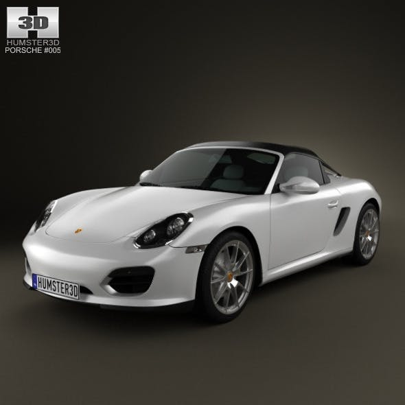 Porsche Boxster Spyder 2011 - 3DOcean Item for Sale