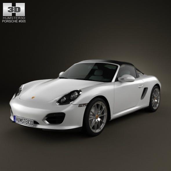 Porsche Boxster Spyder 2011