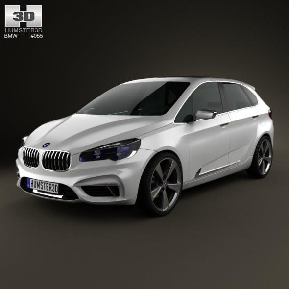 BMW Active Tourer 2012 - 3DOcean Item for Sale