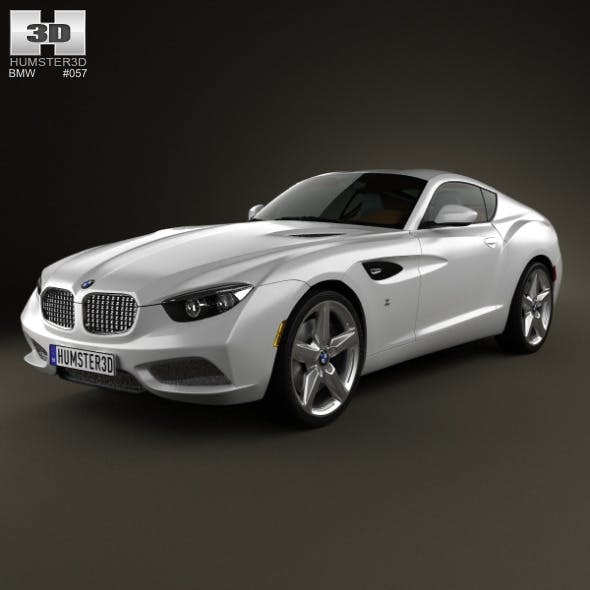 BMW Zagato Coupe 2012 - 3DOcean Item for Sale