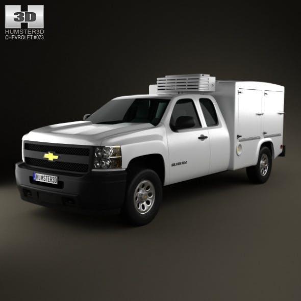 Chevrolet Silverado Hotshot II XL 2011