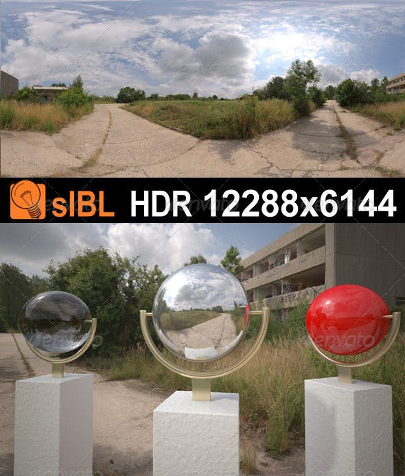 HDR 080 Road sIBL - 3DOcean Item for Sale