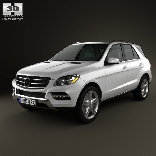 Mercedes-Benz M-Class 2012 - 3DOcean Item for Sale