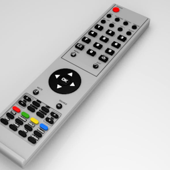 Realistic TV/Blu-ray/DVD etc. remote