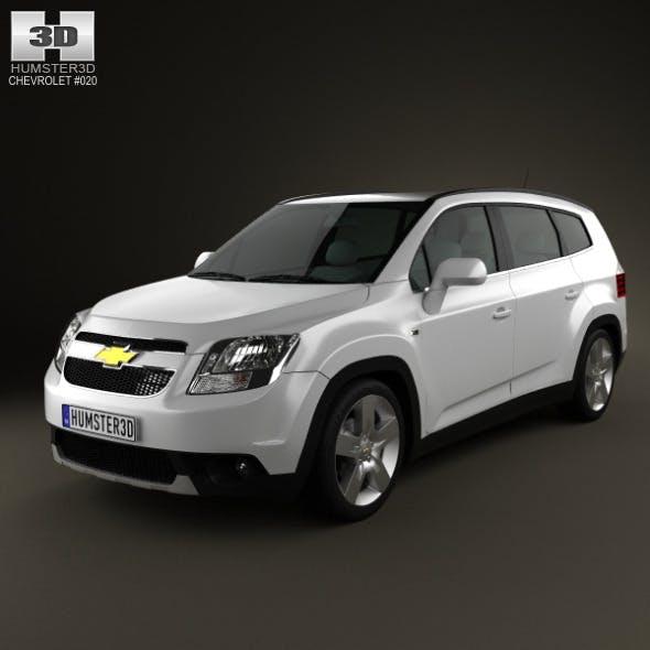Chevrolet Orlando 2011 - 2012