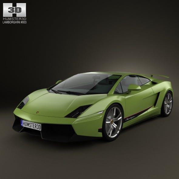 Lamborghini Gallardo LP570-4 Superleggera 2011 - 3DOcean Item for Sale