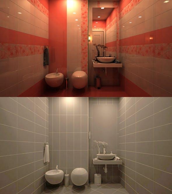 Bathroom  - 3DOcean Item for Sale
