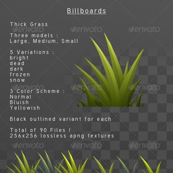 ThickGrass billboard pack