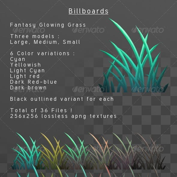 Fantasy Grass billboard pack