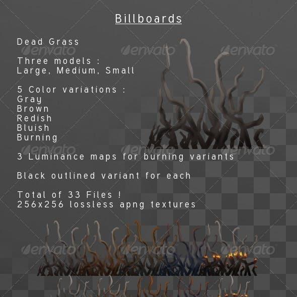 Dead Grass billboard pack