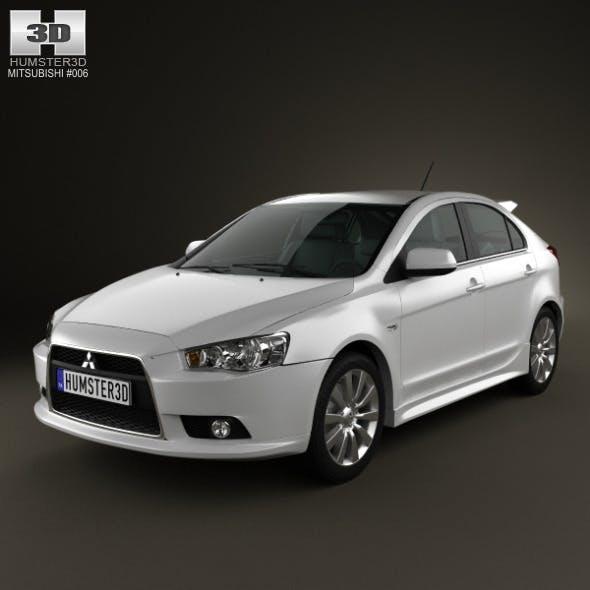 Mitsubishi Lancer Sportback - 3DOcean Item for Sale