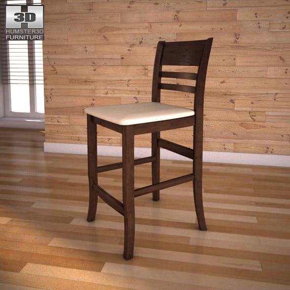 "Ashley Lynx 24"" Barstool - 3DOcean Item for Sale"